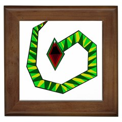 Decorative Snake Framed Tiles