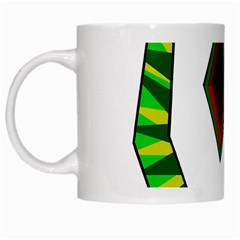 Decorative Snake White Mugs