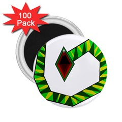 Decorative Snake 2.25  Magnets (100 pack)