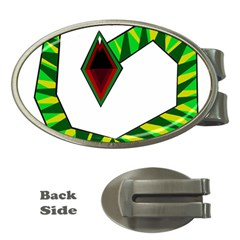 Decorative Snake Money Clips (oval)