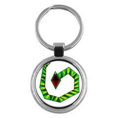 Decorative Snake Key Chains (Round)