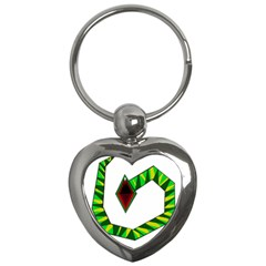 Decorative Snake Key Chains (Heart)