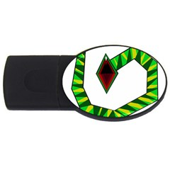 Decorative Snake USB Flash Drive Oval (2 GB)