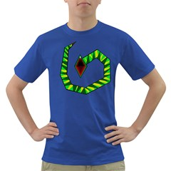 Decorative Snake Dark T-Shirt