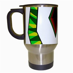 Decorative Snake Travel Mugs (white)