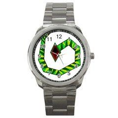 Decorative Snake Sport Metal Watch