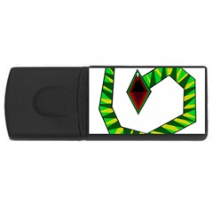 Decorative Snake USB Flash Drive Rectangular (4 GB)