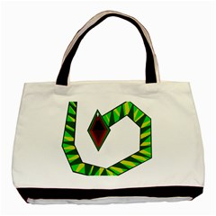 Decorative Snake Basic Tote Bag (Two Sides)