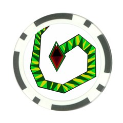 Decorative Snake Poker Chip Card Guards