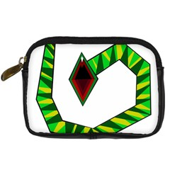 Decorative Snake Digital Camera Cases