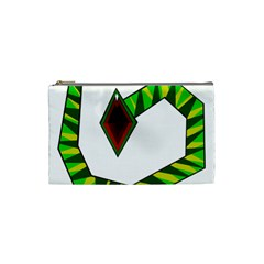 Decorative Snake Cosmetic Bag (small)
