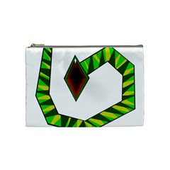 Decorative Snake Cosmetic Bag (medium)