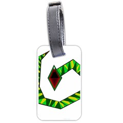 Decorative Snake Luggage Tags (Two Sides)
