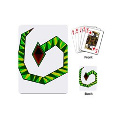 Decorative Snake Playing Cards (Mini)
