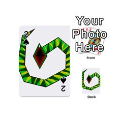 Decorative Snake Playing Cards 54 (Mini)