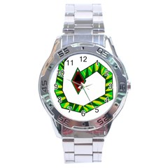 Decorative Snake Stainless Steel Analogue Watch