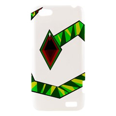 Decorative Snake HTC One V Hardshell Case