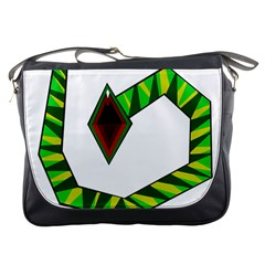 Decorative Snake Messenger Bags