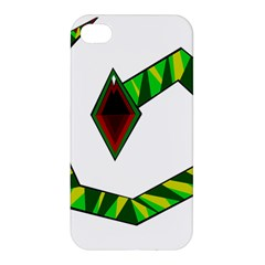 Decorative Snake Apple iPhone 4/4S Premium Hardshell Case