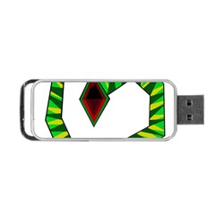 Decorative Snake Portable USB Flash (Two Sides)