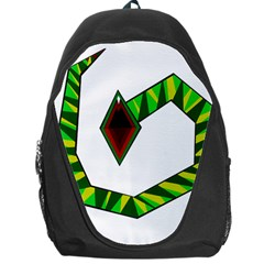 Decorative Snake Backpack Bag