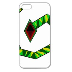 Decorative Snake Apple Seamless iPhone 5 Case (Clear)