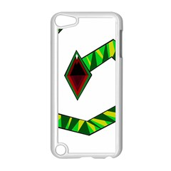 Decorative Snake Apple iPod Touch 5 Case (White)