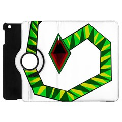 Decorative Snake Apple iPad Mini Flip 360 Case