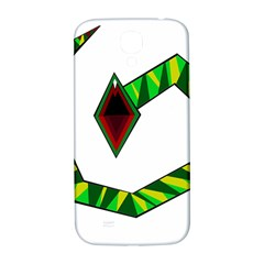 Decorative Snake Samsung Galaxy S4 I9500/I9505  Hardshell Back Case