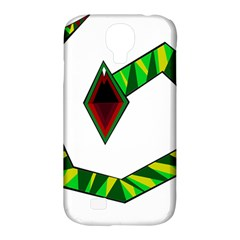 Decorative Snake Samsung Galaxy S4 Classic Hardshell Case (pc+silicone)