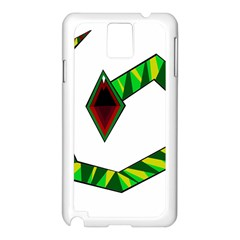 Decorative Snake Samsung Galaxy Note 3 N9005 Case (White)