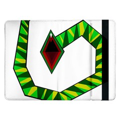 Decorative Snake Samsung Galaxy Tab Pro 12 2  Flip Case