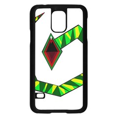 Decorative Snake Samsung Galaxy S5 Case (black)