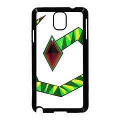 Decorative Snake Samsung Galaxy Note 3 Neo Hardshell Case (Black)