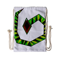 Decorative Snake Drawstring Bag (Small)