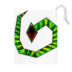 Decorative Snake Drawstring Pouches (Extra Large)
