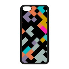 Connected shapes                                                                             Apple iPhone 5C Seamless Case (Black)