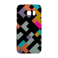 Connected shapes                                                                             Samsung Galaxy S6 Edge Hardshell Case