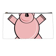 Pink Rhino Pencil Cases