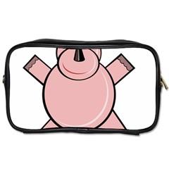 Pink Rhino Toiletries Bags