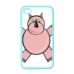 Pink Rhino Apple iPhone 4 Case (Color)