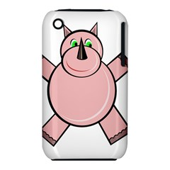 Pink Rhino Apple iPhone 3G/3GS Hardshell Case (PC+Silicone)