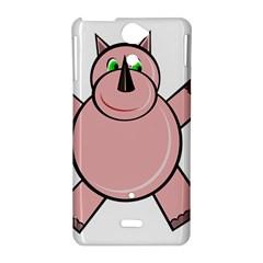 Pink Rhino Sony Xperia V