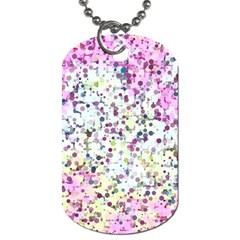 Hexagons                                                                             Dog Tag (One Side)
