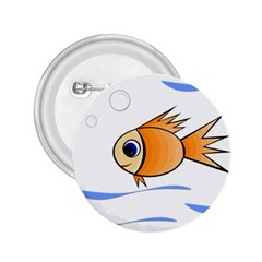 Cute Fish 2.25  Buttons