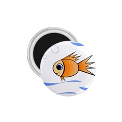 Cute Fish 1.75  Magnets