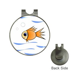 Cute Fish Hat Clips with Golf Markers