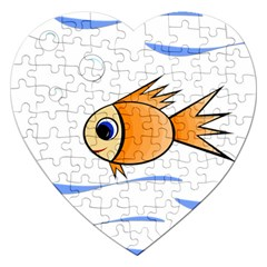 Cute Fish Jigsaw Puzzle (Heart)