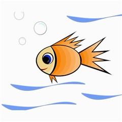 Cute Fish Canvas 16  x 20