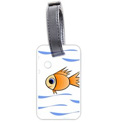Cute Fish Luggage Tags (One Side)